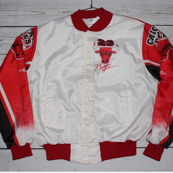 23f45f4411ba8 Chalk Line Jackets & Coats | Vintage Chicago Bulls Michael Jordan ...